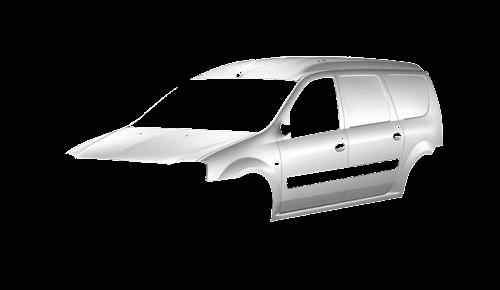 Цвета кузова Logan Van